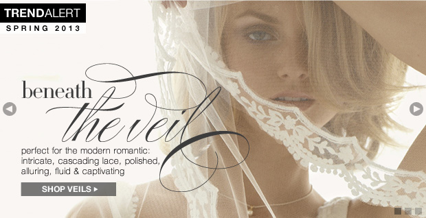 Shop Romantic Veils and Bridal Accessories