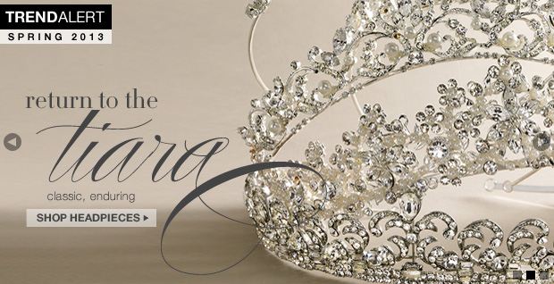 Shop Classic Tiaras and Wedding Accessories
