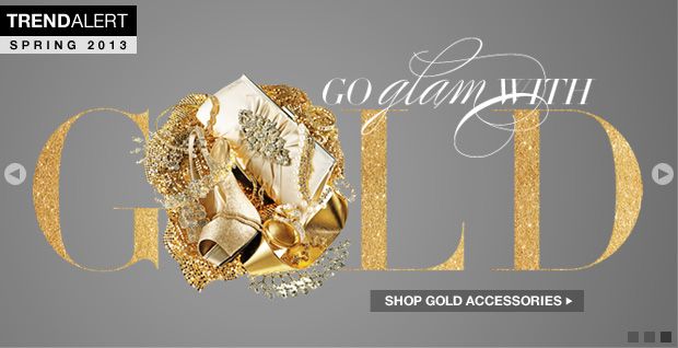 Shop Gold Shoes, Gold Handbags and Gold Accessories