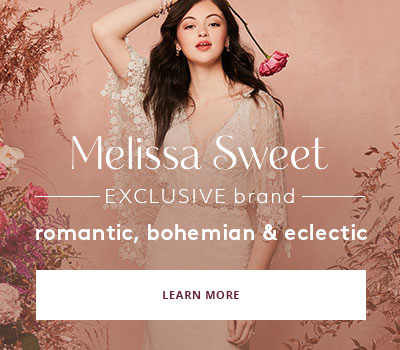 Exclusive Brand Melissa Sweet - romantic, bohemian & eclectic