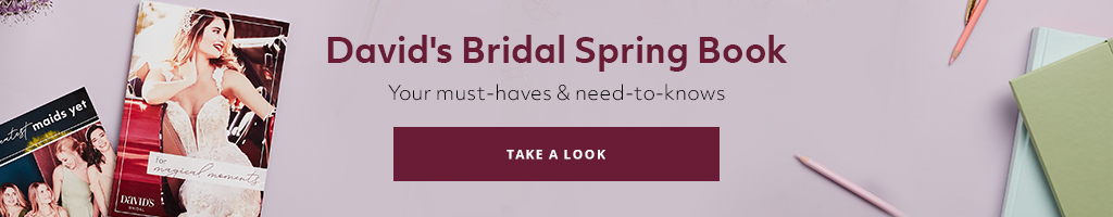 Brides - are you ready to preview our spring collection? (say yes!