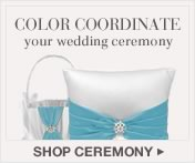 Shop Wedding Ceremony Items in David's Bridal Coordinated Colors
