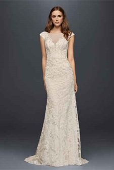 Second slideshow: Illusion Lace Sheath Gown