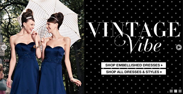 Shop Vintage Bridesmaid Dresses
