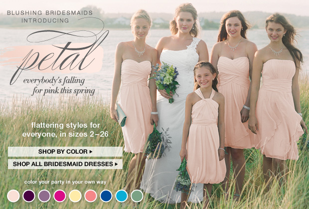 Shop All Bridesmaid Dresses and Bridal Party Dresses