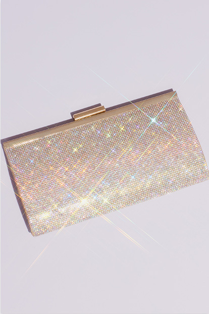 Silver and rose gold evening bags for everyone