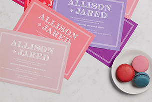 Invitations in Your Color