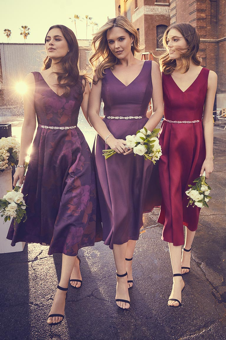 bridesmaids inspiration exclusive styles trending looks david s