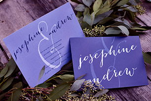 Color-Coordinated Invitations