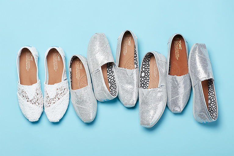 TOMS Slip on Shoes for Women