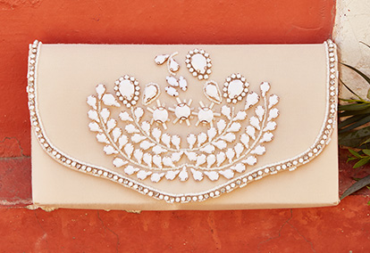 Embellished clutch handbag perfect for any event