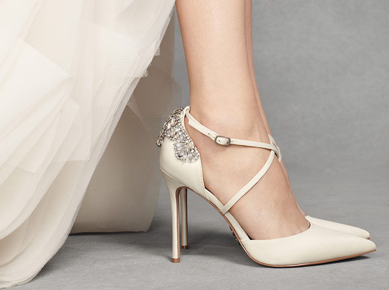 Shoes Style Inspiration Tips Trends 2019 Davids Bridal