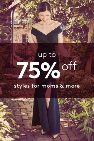 Up to 75% off Mother of the Bride and Groom