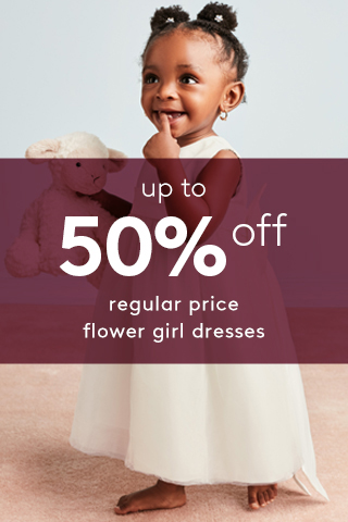 Up to 50% off Regular Price Flower Girl