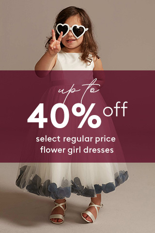Up to 40% off Flower Girl Dresses