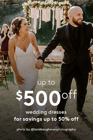 Up to 50% off, Thousands of Gowns Available Now