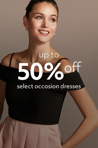 Up to 50% off Occasion dresses