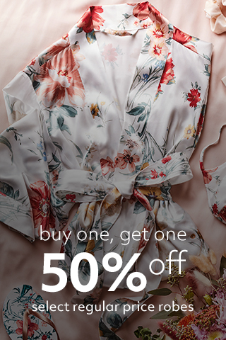 BOGO 50% off Select Robes