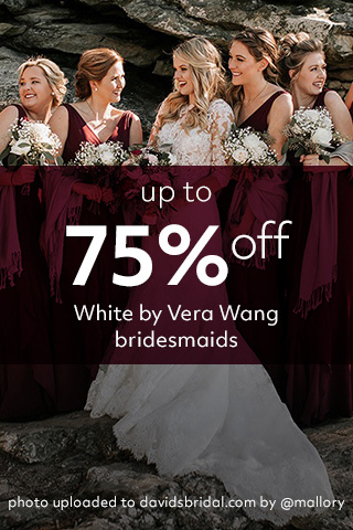 75% off WVW Bridesmaids