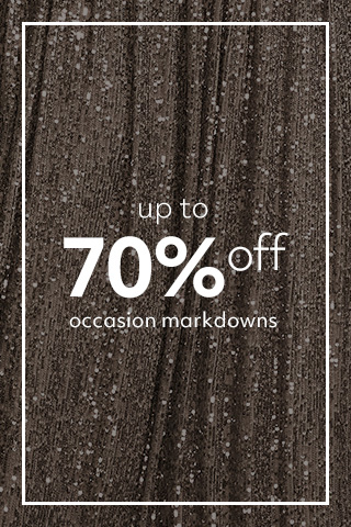 Up to 70% off Occasion Markdowns