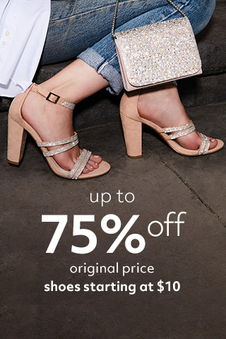 40% off clearance shoes