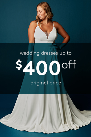 $250 off Regular Price wedding dresses