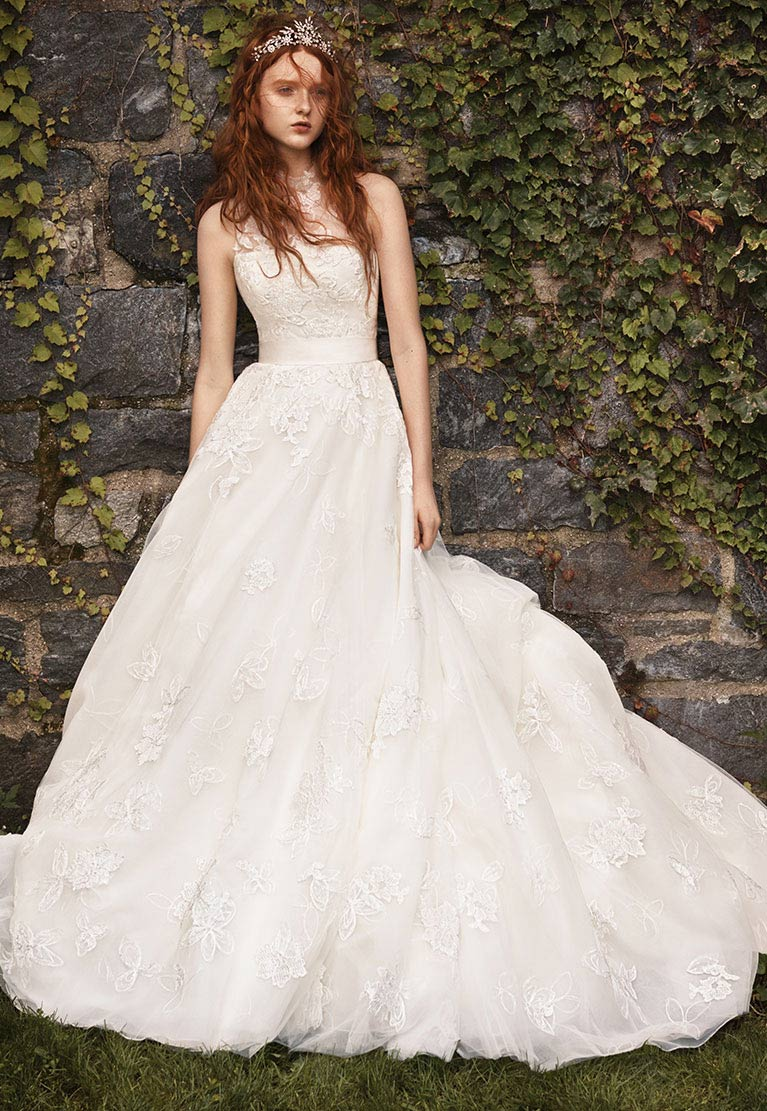 White by Vera Wang Wedding Dress Collection | David\'s Bridal
