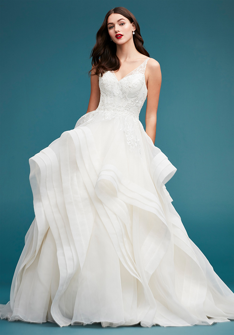 Truly Zac Posen Wedding Dress Collection | David\'s Bridal