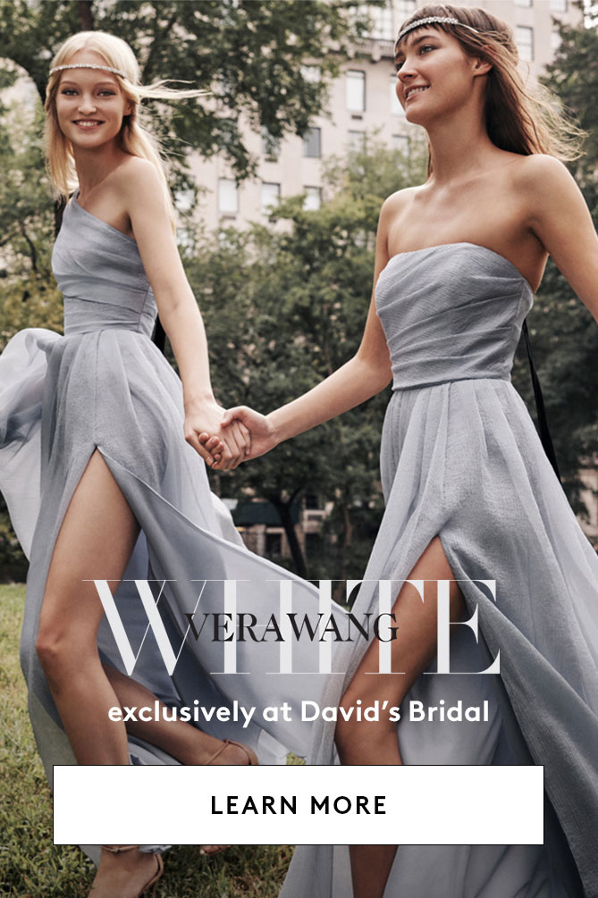 White by Vera Wang Exclusively at David's Bridal LEARN MORE