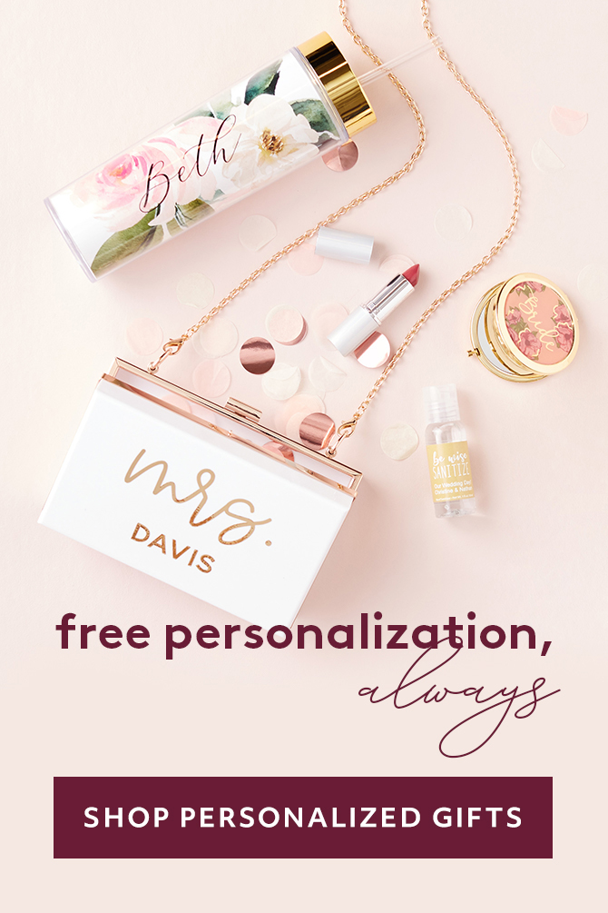 Free Personalization ALWAYS - SHOP PERSONALIZED GIFTS