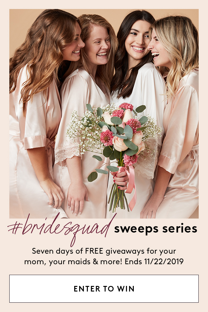 #bridesquad sweeps series