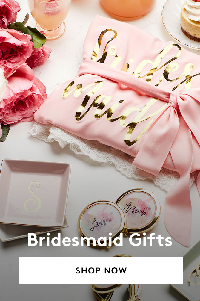 Shop Gifts for Bridesmaids