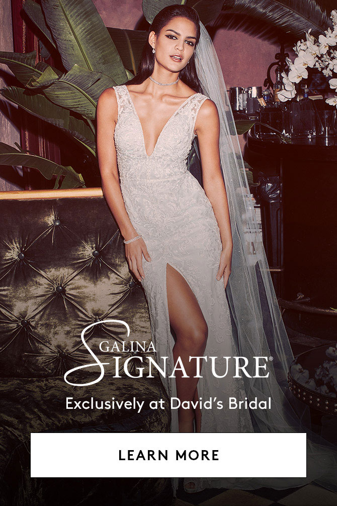 Galina Signature Exclusively at David's Bridal