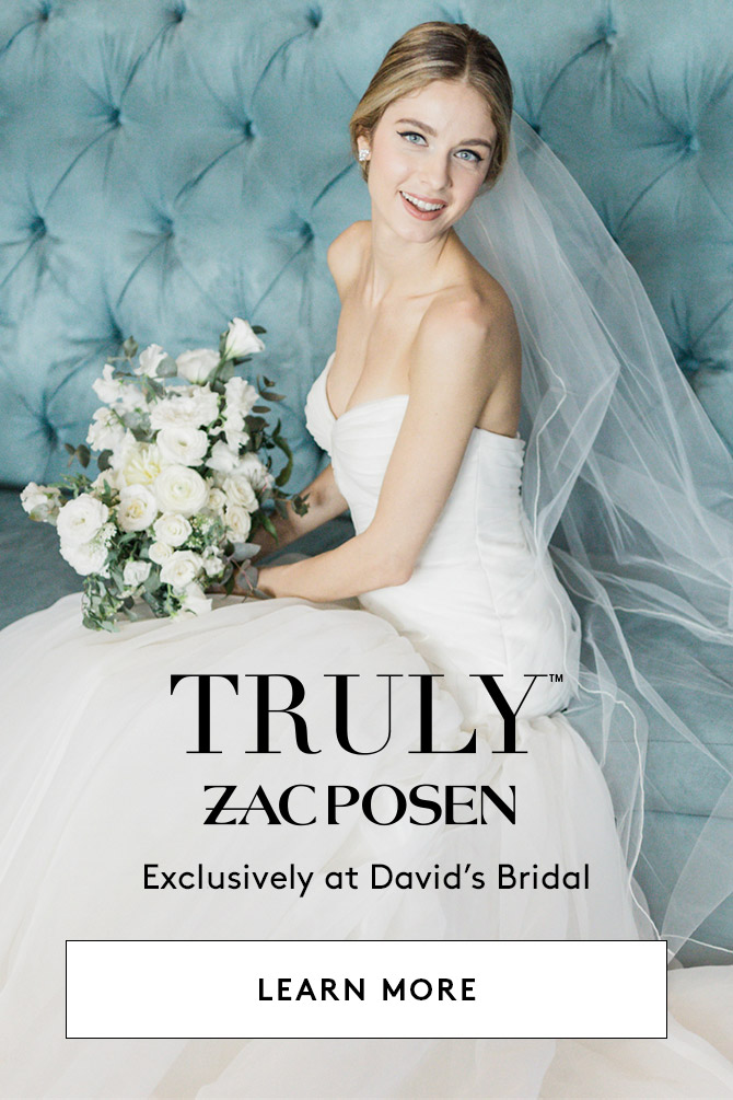Truly Zac Posen - Exclusively at David's Bridal