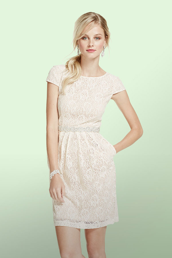 Cotton and Lace Evening Dresses