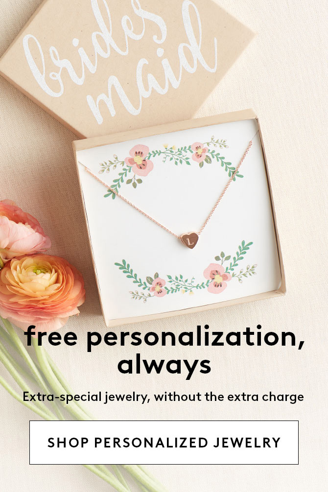 Personalized Jewelry | Shop Now