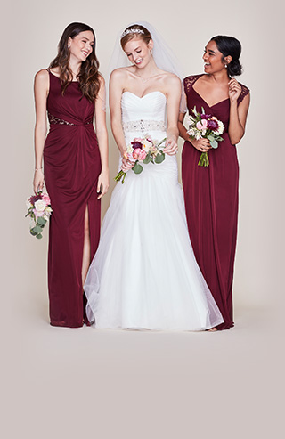 9ff5ec50a8 Bridesmaid Dresses   Gowns (100+ Colors)