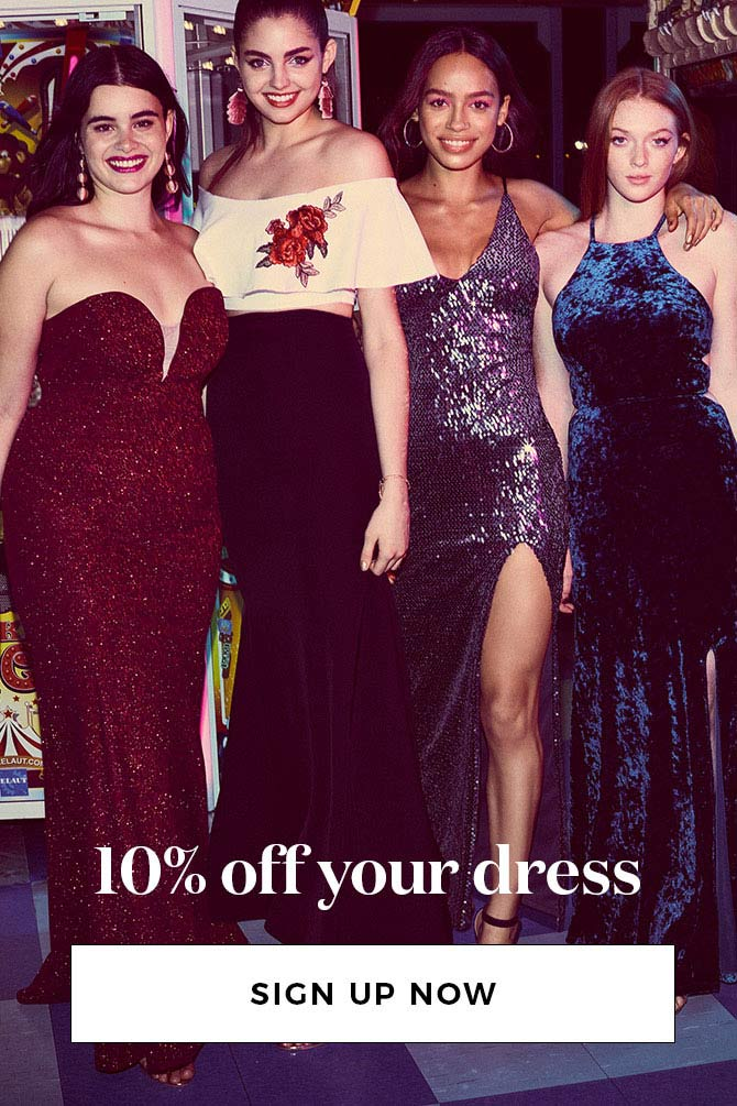 10% off your dress
