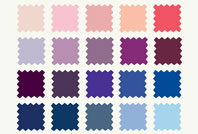 David S Bridal Dress Colors 100 Color Palette David S Bridal