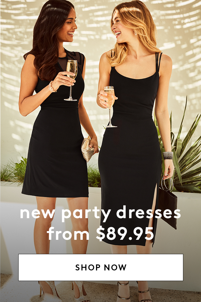 New Party Dresses from $89.95