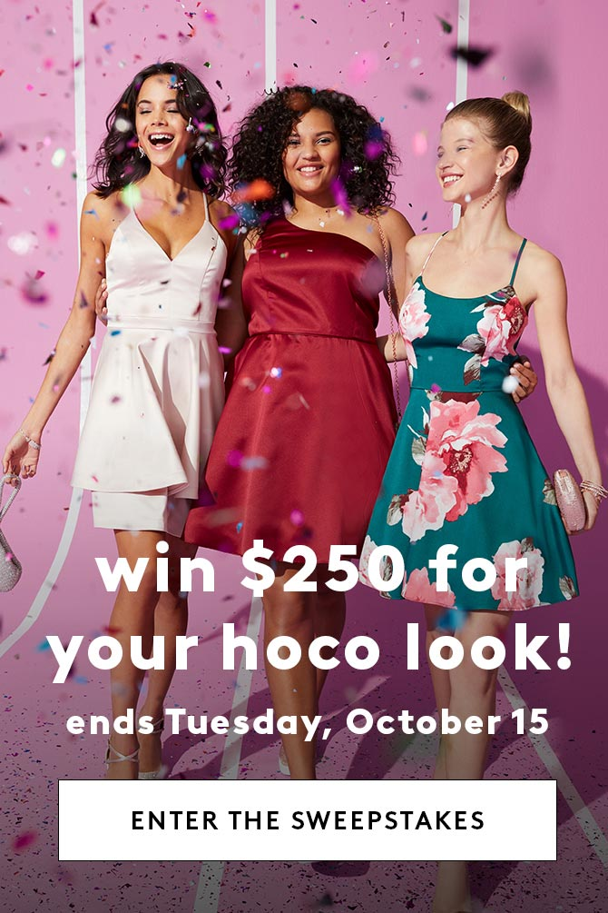 Win $250 for your hoco look