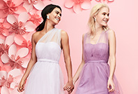 Our dress finder can help you pick the perfect look for your bridal party
