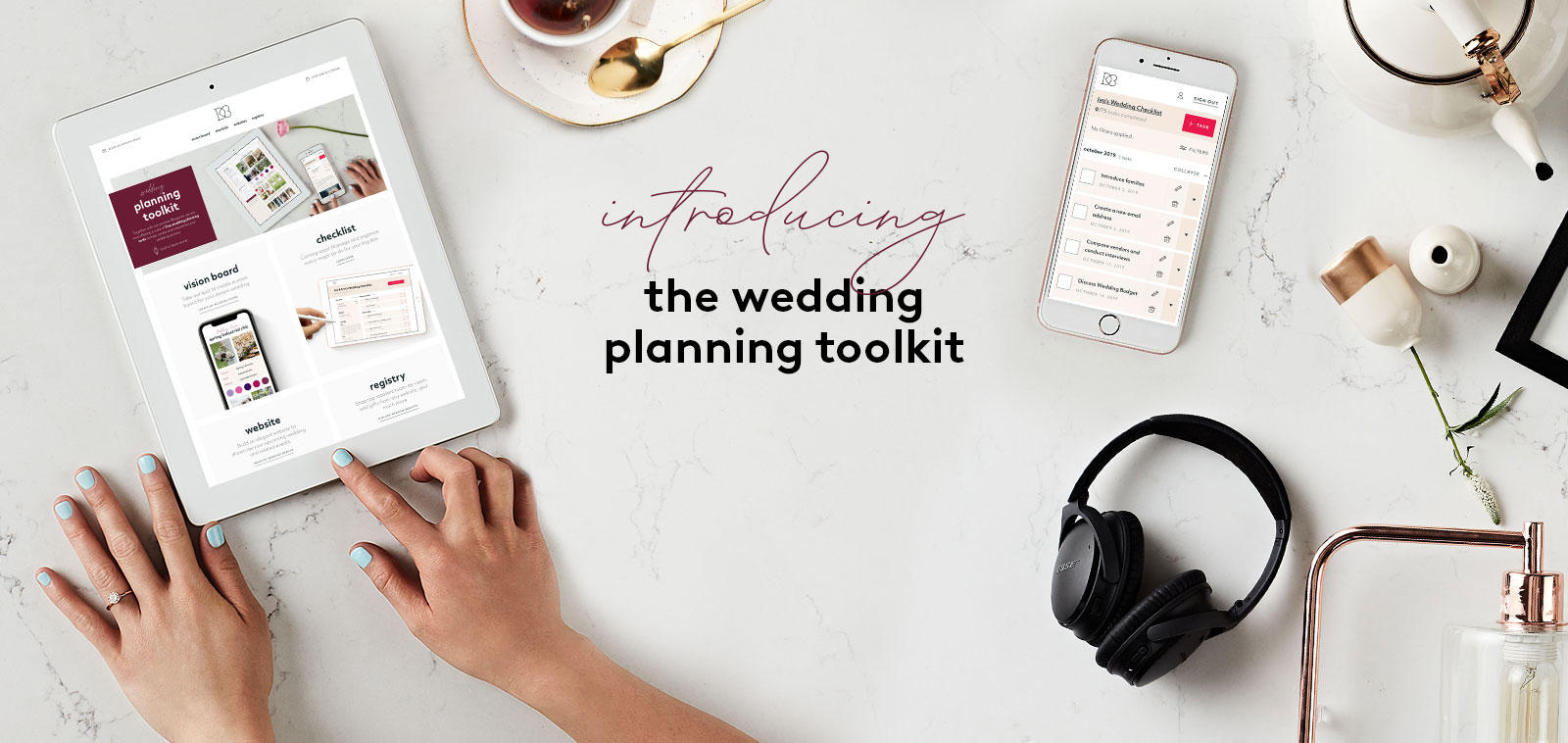 Wedding toolkit to plan all wedding needs.