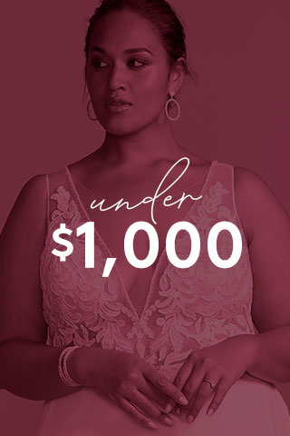 Wedding Dresses Under $1,000