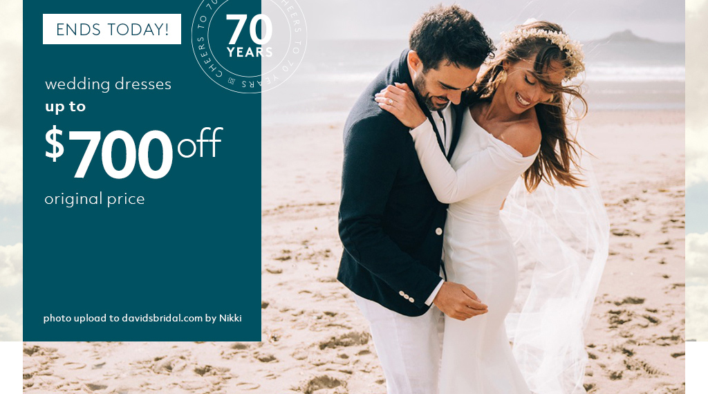 wedding dresses up to $700 off original price