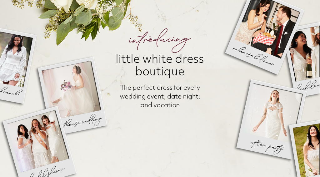 introducing little white dress boutique - The perfect dress for every wedding event, date night, and vacation