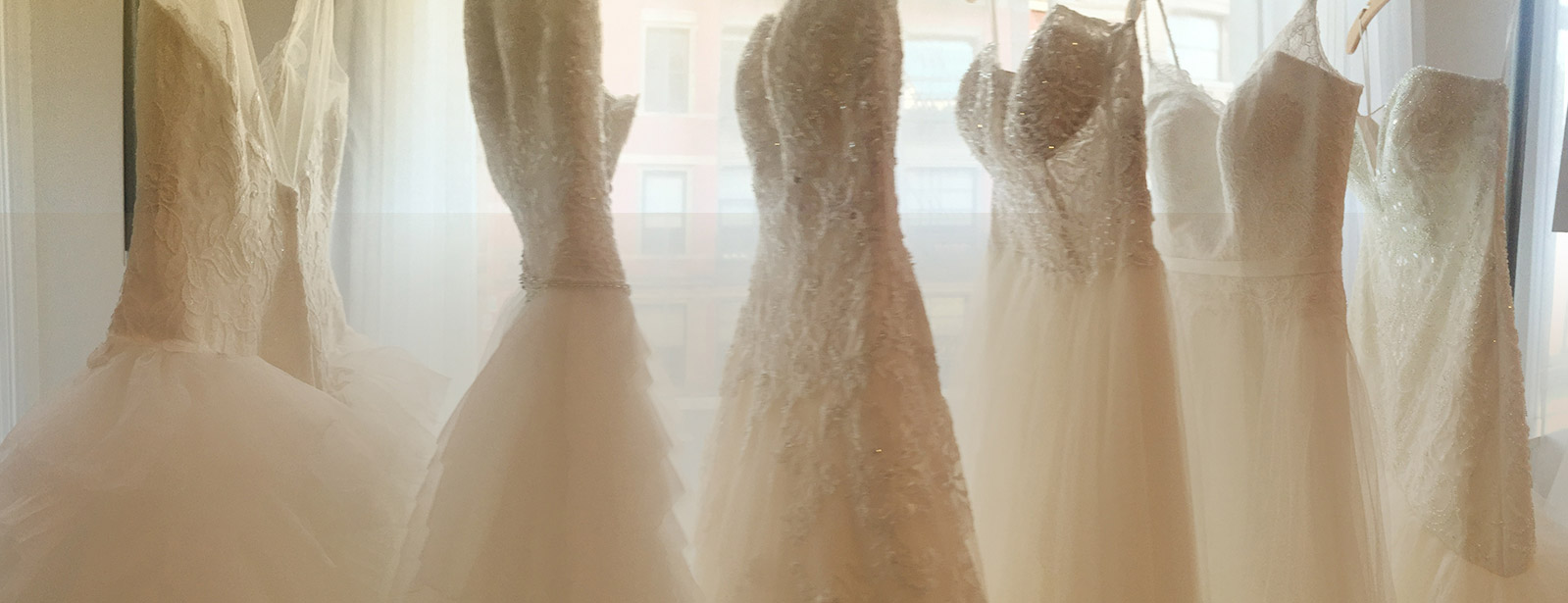 SAMPLE SALE Wedding dresses up to $800 off original price, including designer styles