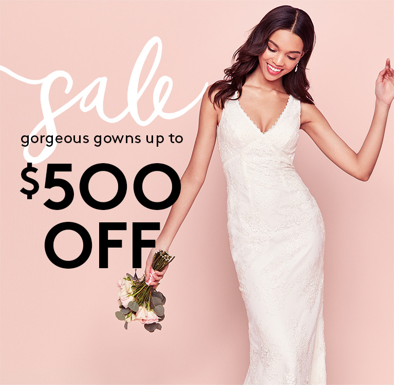 Wedding Dresses, Bridesmaid Dresses & Gowns | David\'s Bridal
