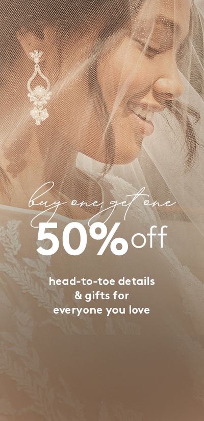 buy one, get one 50% off shoes, accessories, gifts and decor