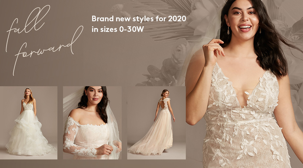 fall forward - brand new styles for 2020 in sizes 0-30W